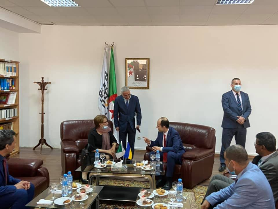 Фото: Посольство України в Алжирі