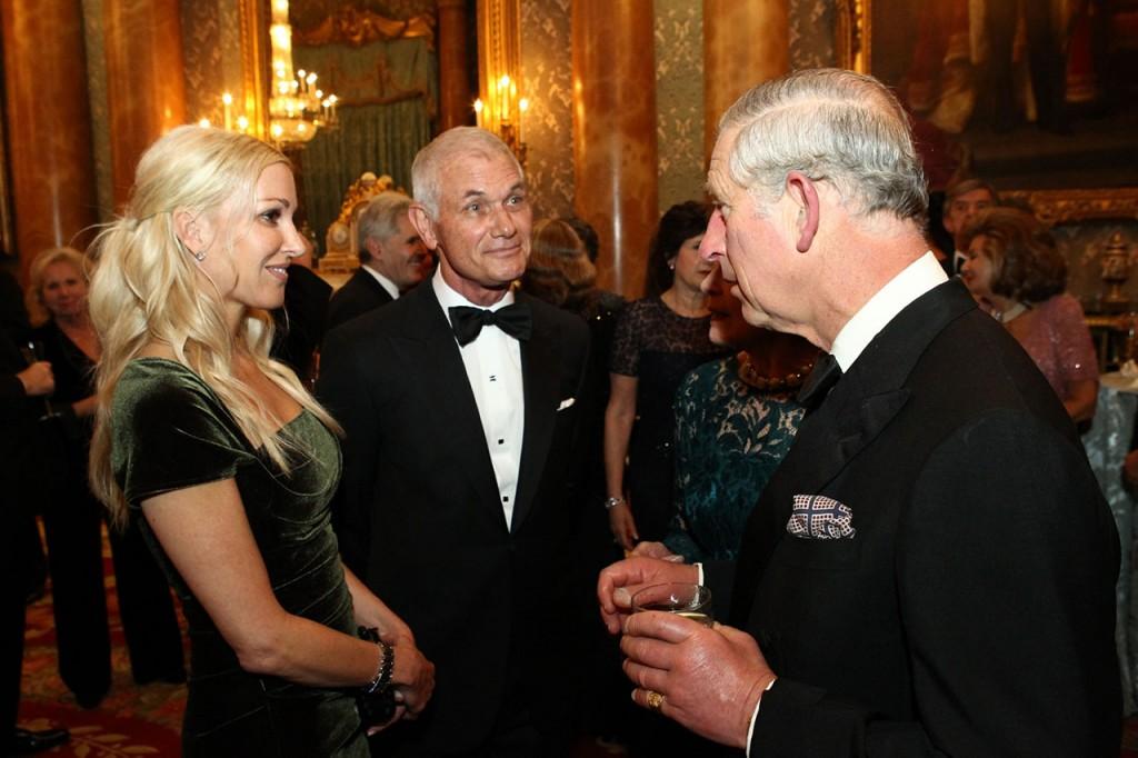 Річард МакДональд та принц Чарльз