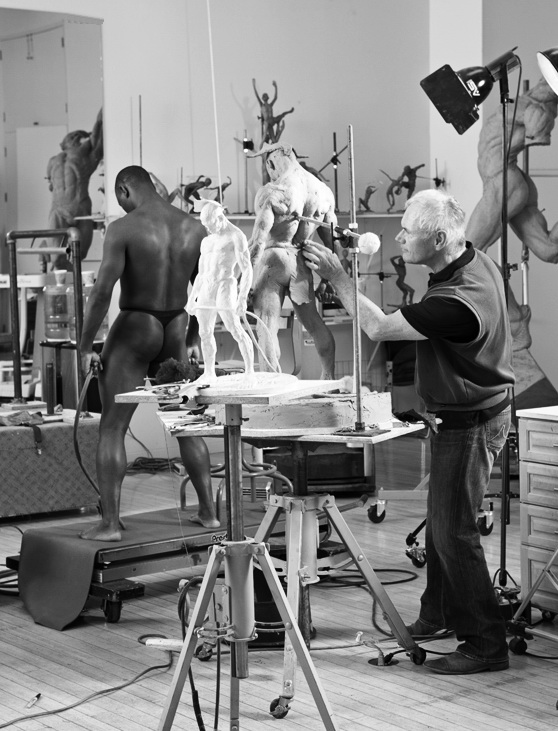 Хранитель, робота з моделлю, 2009 р.