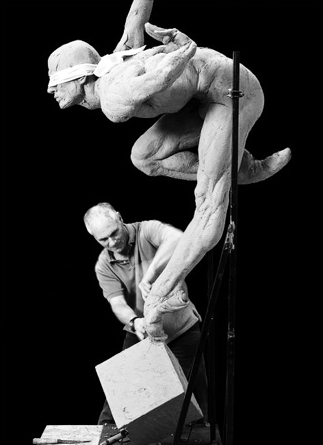 Сліпа віра, робота з моделлю, 2008 р.