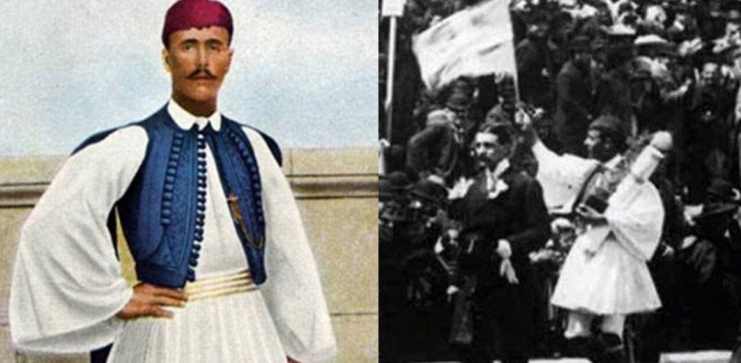 Герой першої Олімпіади марафонець Спірос Луіс