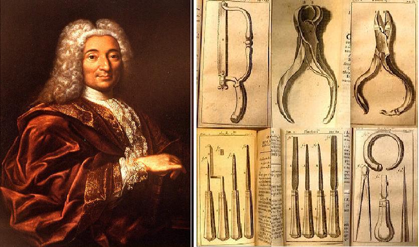 П'єр Фошар та його інструменти
