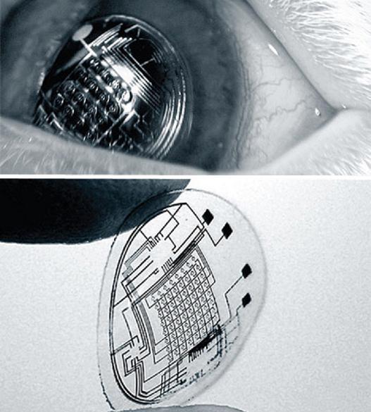 Біонічні контактні лінзи