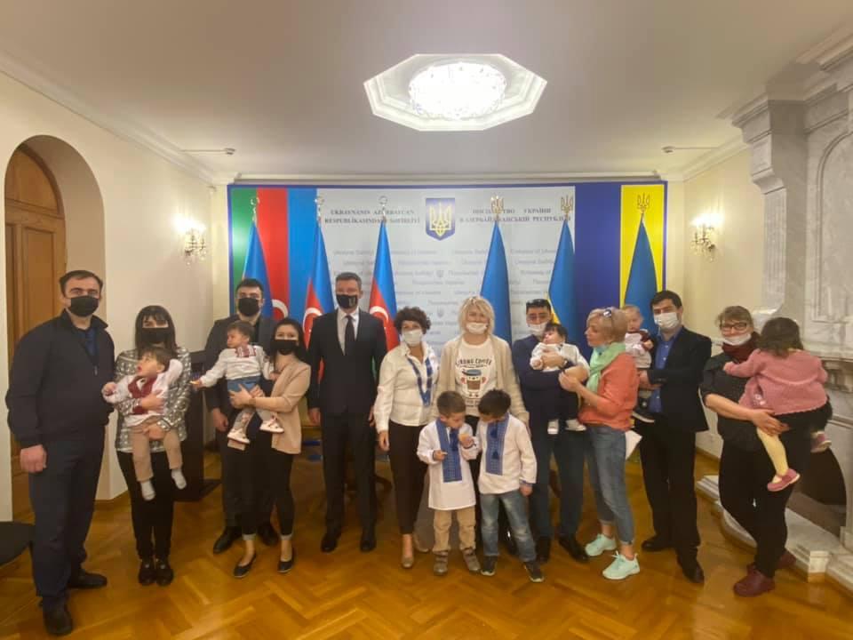 Фото: посольство України в Азербайджані