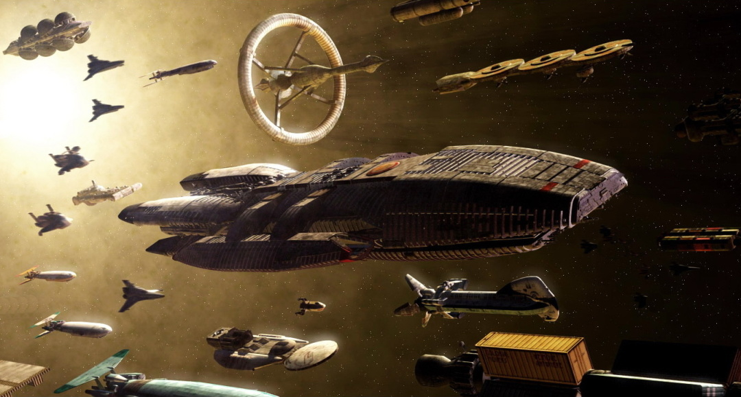 зоряний крейсер «Галактика» з однойменного телесеріалу
