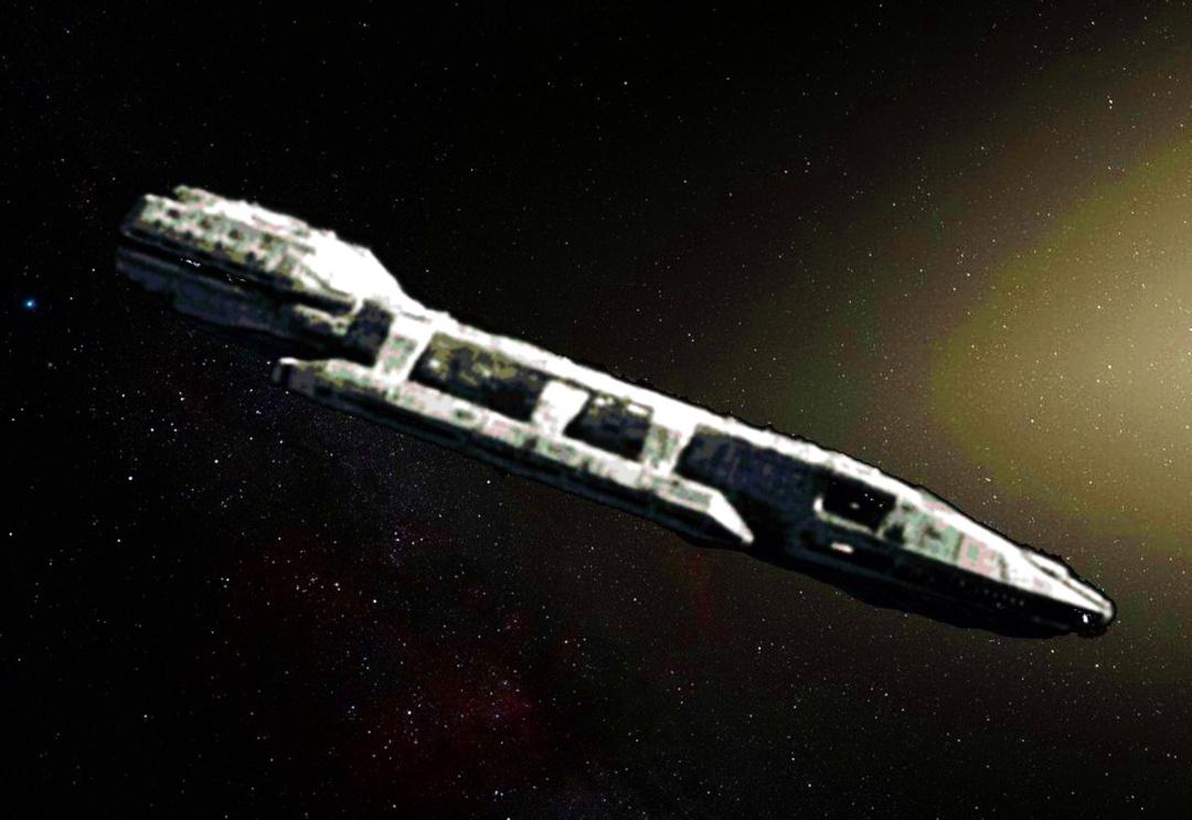 Об'єкт Оумуамуа - перший зоряний крейсер прибульців у Сонячній системі А