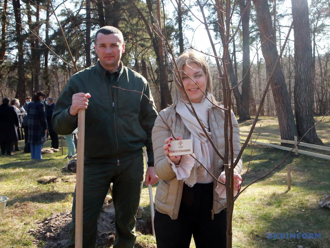 Богдан Боруховський та Ольга Стефанішина