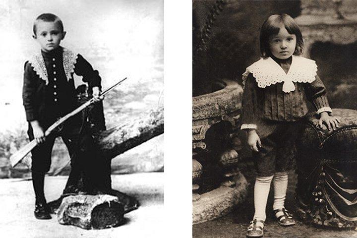 Знімки з дитячих літ