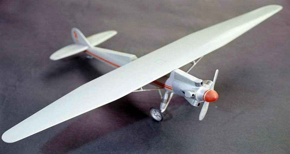 Модель одного з літаків конструкції С.Корольова