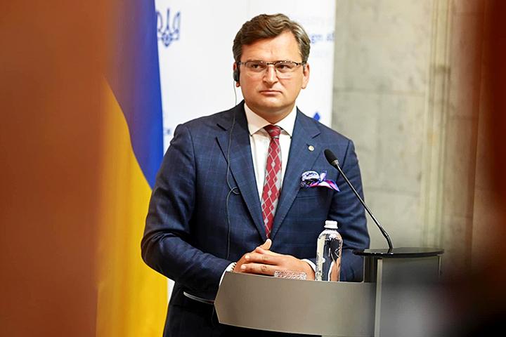 Ukraine's Foreign Minister Dmytro Kuleba
