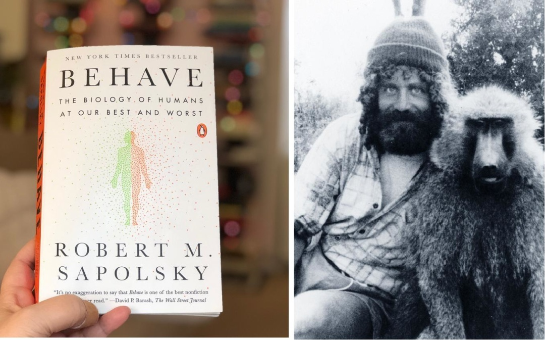 Роберт Сапольскі та його знаменита книга