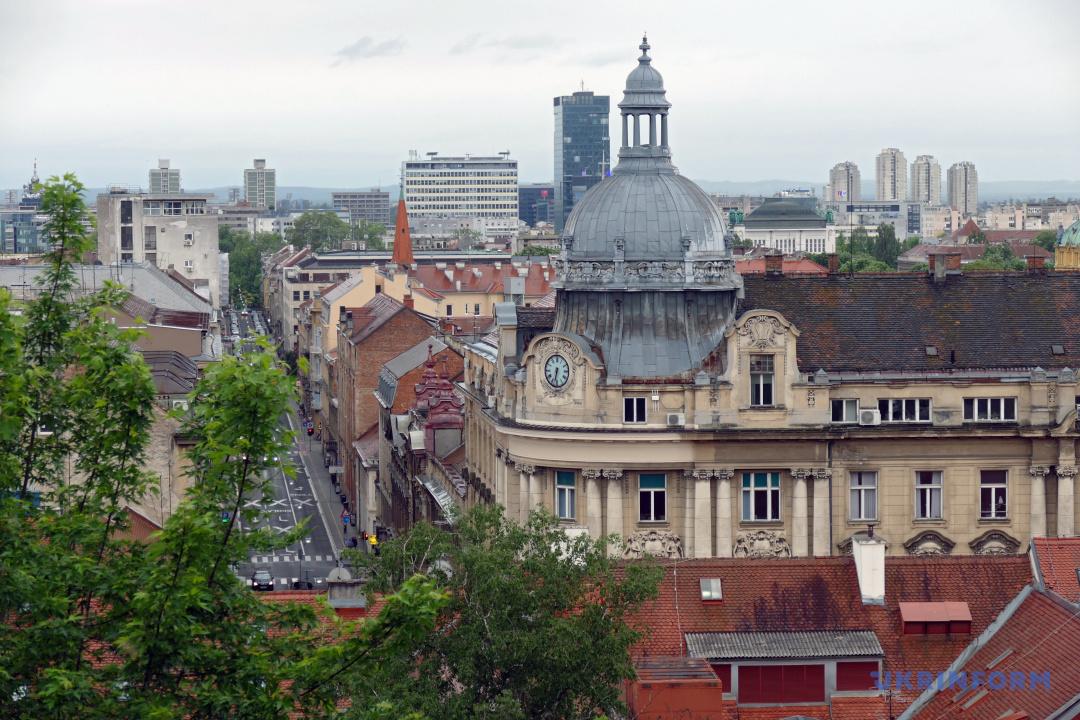 Загреб – столиця Хорватії / Фото: Юрій Рильчук, Укрінформ