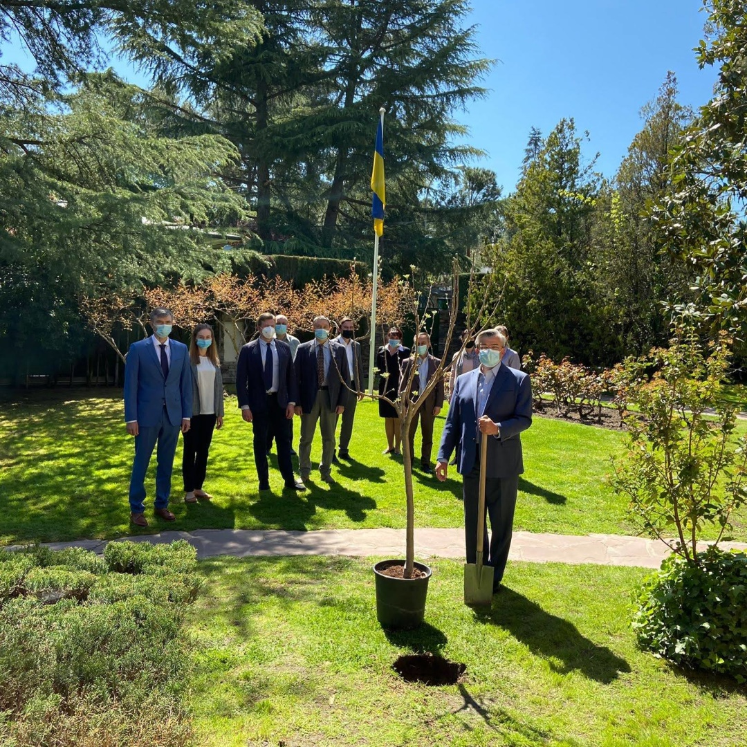 Фото: посольство України в Іспанії