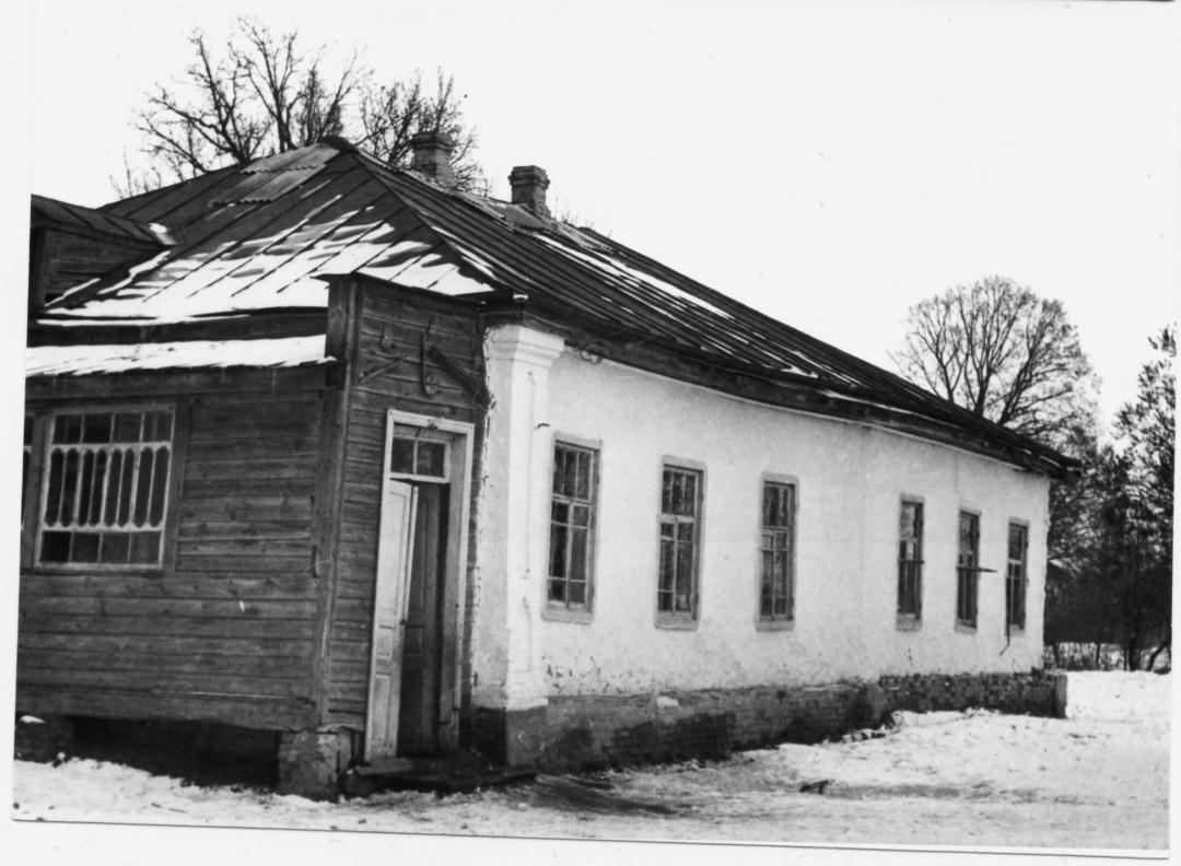хата родини Вороних у Журавці, 1992 р.