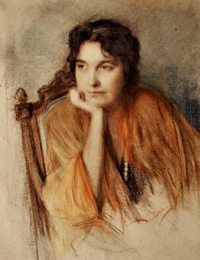 9-художник Олександр Мурашко, Вероніка Черняхівська.  1918