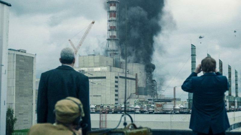 Кадр з відомого серіалу про Чорнобиль