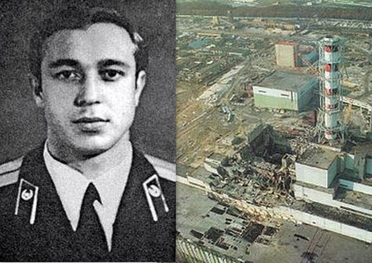 Герой Чорнобиля пожежник Володимир Правик