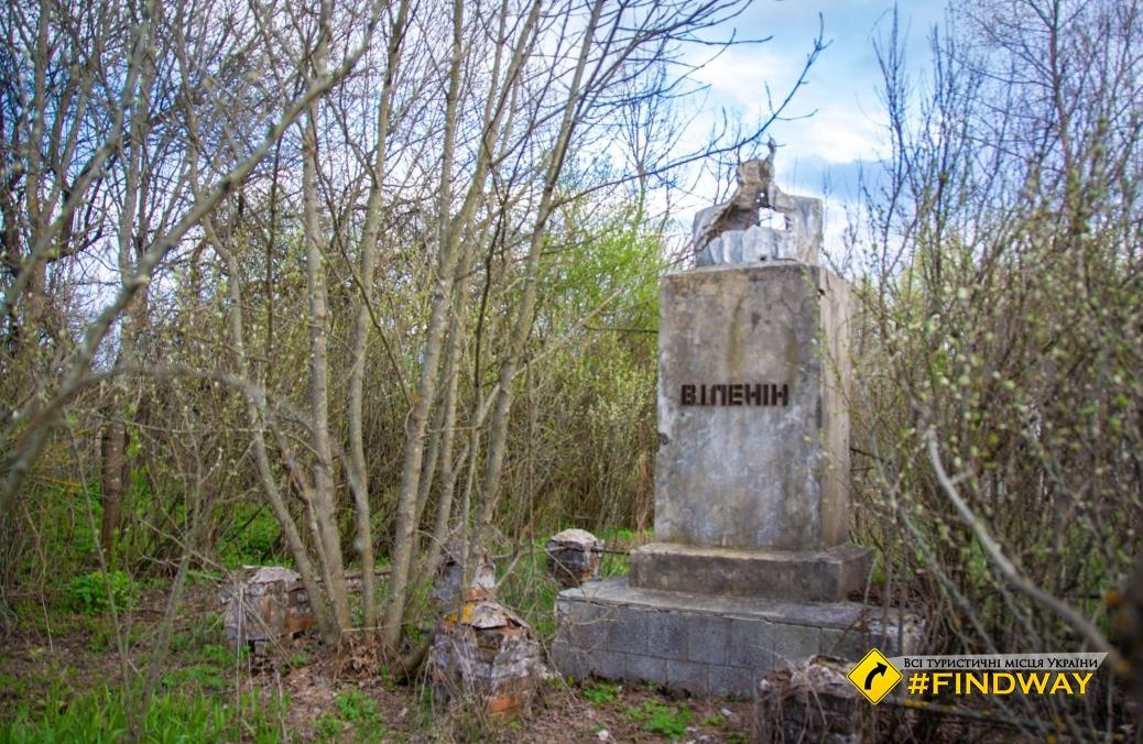 У покинутому селі Товстий Ліс