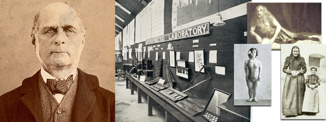ФренсісГальтон і його лабораторія на міжнапродній виставці здоров'я