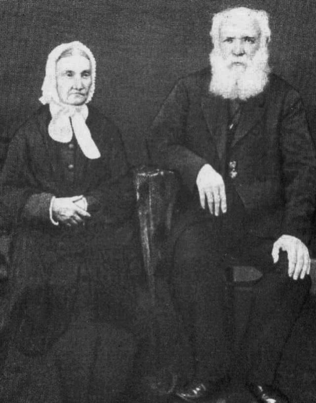 Яків Григорович і Тетяна Іванівна Рудченки, 1857 р. А