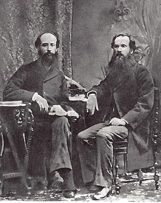 Панас Мирний та Іван Білик, 1881 р.