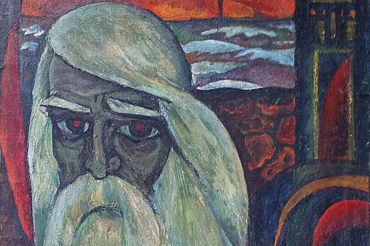 Картина «Гетьман Калнишевський», яка повернулась з реставрації