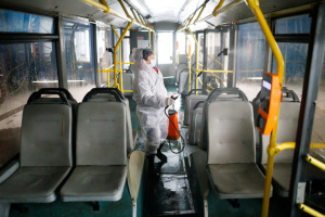 На Полтавщині громадський транспорт курсуватиме лише зранку і ввечері