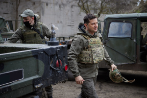 Украина готова к российскому вторжению - Зеленский