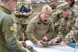 U.S. delegation visits JFO area and talks to Ukrainian defenders
