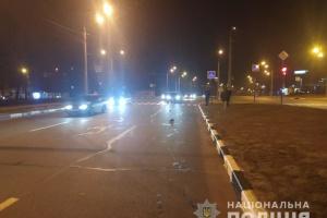 Переходив дорогу на червоне світло: у Харкові Audi на смерть збила поліцейського
