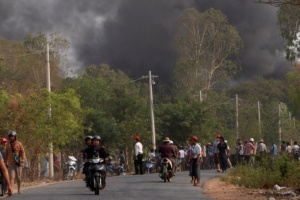 У М'янмі напали на поліцейську дільницю, десять загиблих