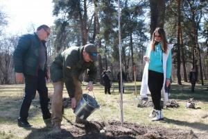 Під Києвом проходить акція «1 мільйон дерев за добу у 100 країнах світу»