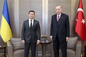 ゼレンシキー大統領、イスタンブルでエルドアン・トルコ大統領と会談 情勢や自由貿易協定案など協議