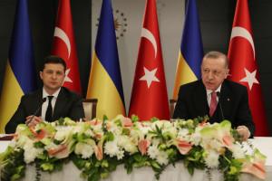 Зеленский поблагодарил Эрдогана за готовность присоединиться к «Крымской платформы»