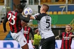 Серія А: «Мілан» переміг «Парму» і зміцнив позиції в лізі