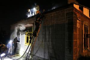 В Днипре горел дом, есть погибшие