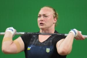 Анастасія Лисенко виграла «срібло» чемпіонату Європи з важкої атлетики
