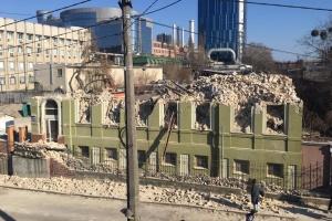В Киеве снесли дом Уткина: полиция начала расследование