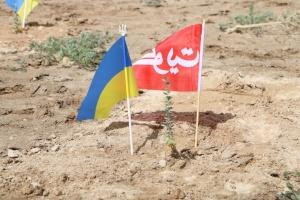 Українці в Кувейті висадили дерева на алеї українсько-кувейтської дружби