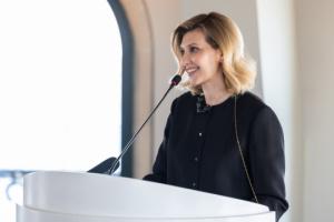 Олена Зеленська запустила два україномовні аудіогіди в Туреччині