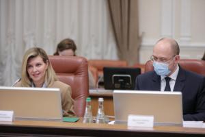 Первая леди предлагает создать в Украине Совет по безбарьерности