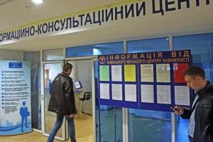 Послугами столичної служби зайнятості цьогоріч скористалися понад 40 тисяч громадян