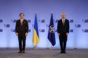Jens Stoltenberg exhorte la Russie à se retirer des frontières de l'Ukraine
