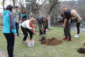 Во Львове воссоздали сад Ивана Франко