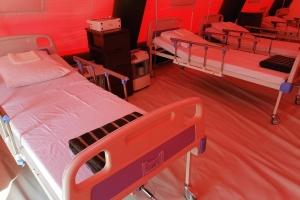 На Хмельниччині у мобільному COVID-госпіталі перебуває десять пацієнтів