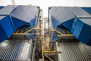 Нові електрофільтри Дарницької ТЕЦ знизили викиди пилу на 40-50%