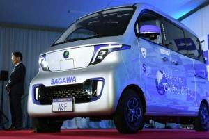 Японська компанія з доставки презентувала власний електромобіль