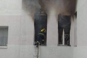 Пожар в больнице на Прикарпатье - горело COVID-отделение с больными на кислороде