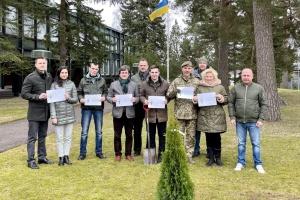 Посольство України у Фінляндії долучилися до міжнародної екологічної акції