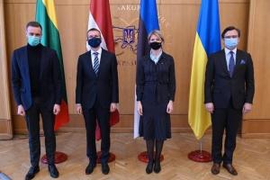 Україна ніколи не буде сама – глави МЗС країн Балтії
